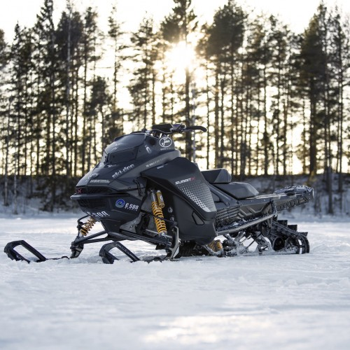 Snowmobile Front