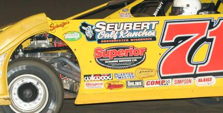 Öhlins Off to a Good Start in Dirt Late Model