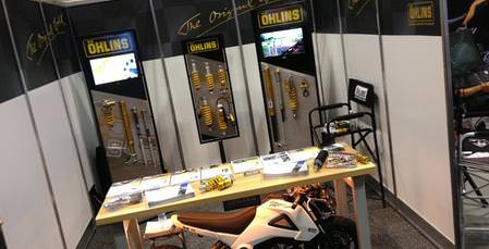 Öhlins USA at AIMExpo