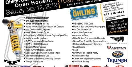 Öhlins USA Open House of Dynamic Excitements