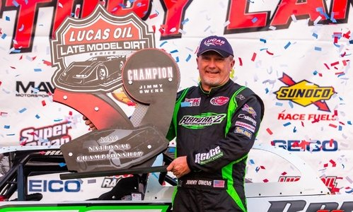Jimmy Owens crushes the 2020 season for the Lucas Oil LMD Series World Championship
